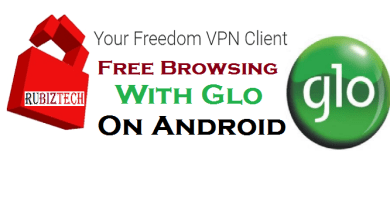Glo 0.0K Your Freedom VPN Free Browsing Tweak for Android