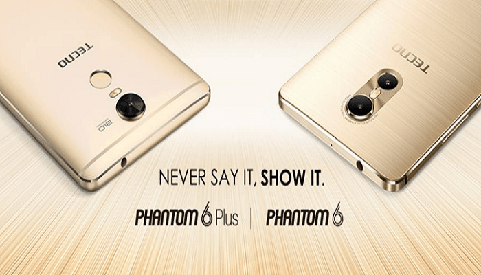 TECNO Mobile Phantom 6 & Phantom 6 Plus Now Official