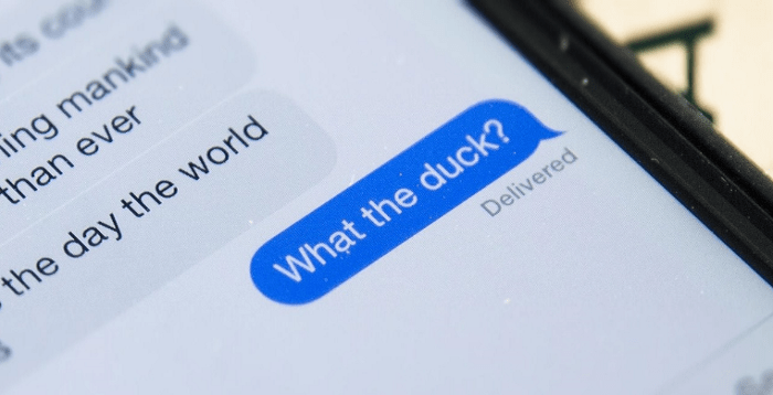 """Bypass iOS' Auto-correct so you Stop """"Ducking-up"""