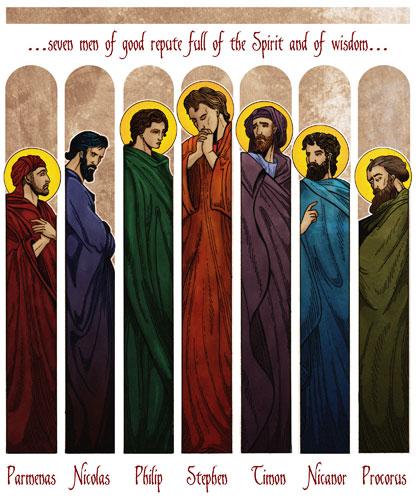 7 Diaken Gereja Yang Pertama Di Alkitab Rubrik Kristen