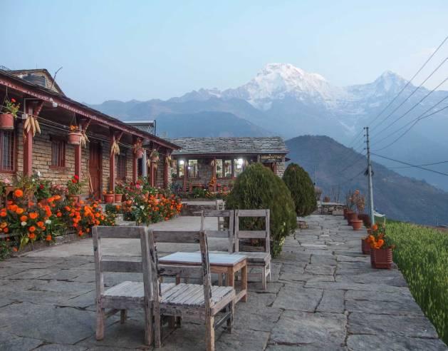Penginapan di Ghandruk Gurung Cottage