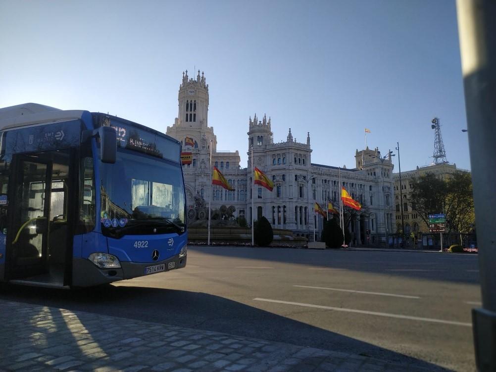 громадський транспорт іспанія