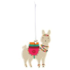 Llama Tropical Scented Car Air Freshener