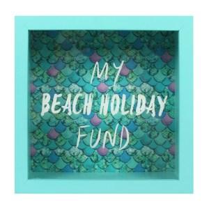 Beach Holiday Fund Money Box