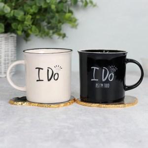 I Do As I'm Told Wedding Mug Set
