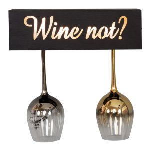 Wine Not Light Up Wine Glass Holder