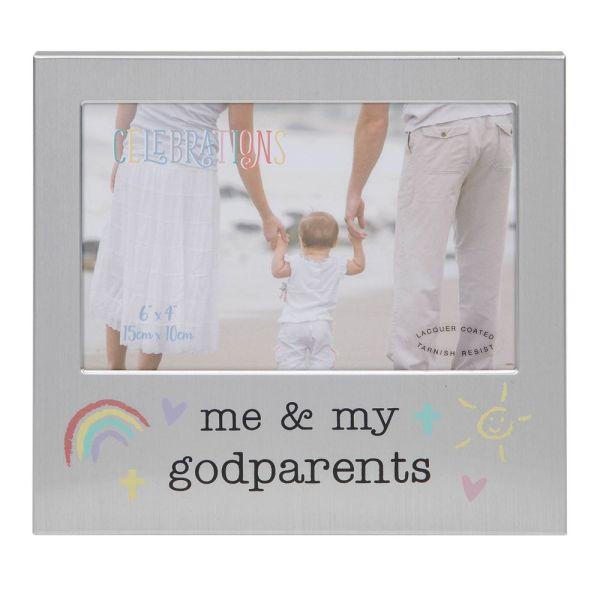 Me & My Godparents Photo Frame