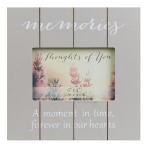 Memories Wood Effect Photo Frame