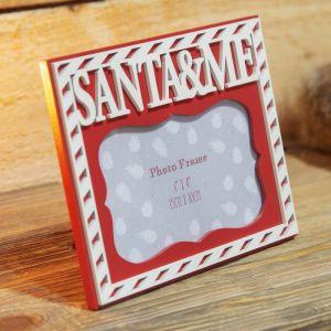 Santa & Me Photo Frame