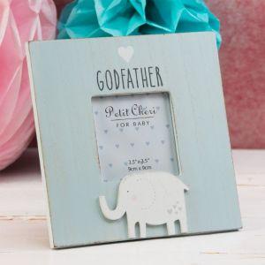 Blue Godfather Photo Frame