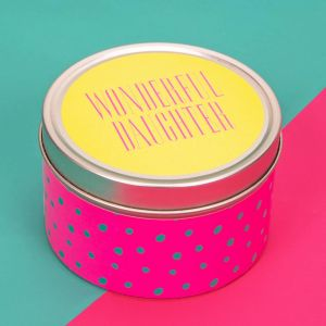 Wonderful Daughter Scented Candle Tin