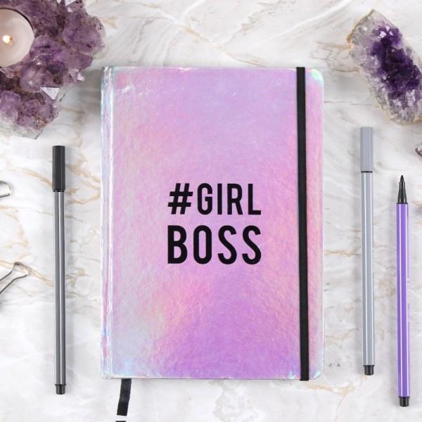 Girl Boss A5 Notebook
