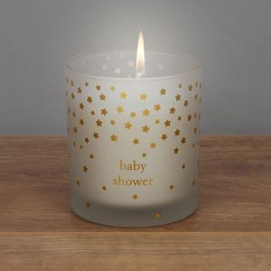 Little Star Baby Shower Candle