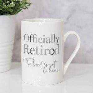 Officially Retired Luxury Mug