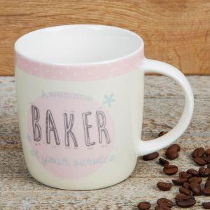 Love Life Baker Mug