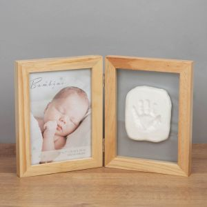New Baby Frame with Hand Print Clay Kit