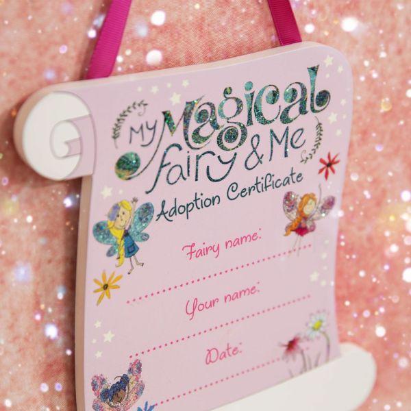 Magical Fairy Hanging Adoption Plaque