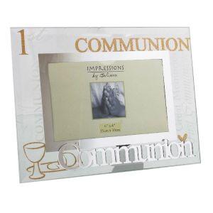 Glass 1st Communion Frame