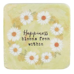 Happiness Blooms From Within Coaster