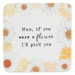 Mum I'd Pick You Coaster