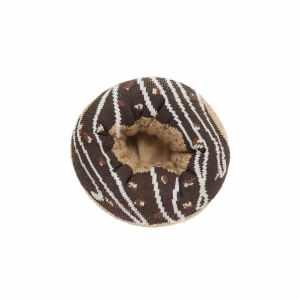 Chocolate Glazed Doughnut Socks