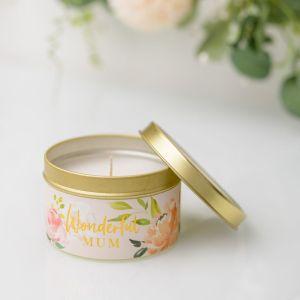 Peaches & Cream Mum Candle
