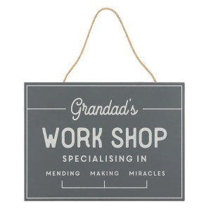 Grandad's Workshop Specialising In Sign