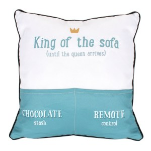 Dad King Of The Sofa Cushion
