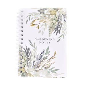 Mum's Garden Gardening Notes Spiral Bound Notebook