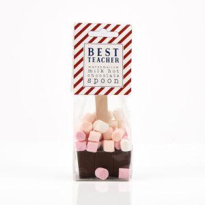 Best Teacher Hot Chocolate & Marshmallow Spoon