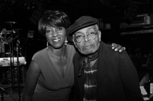 Cheryl and Amiri Baraka