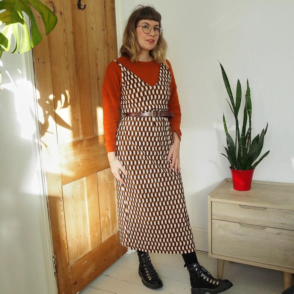 Ruby Rose in a velvet dress