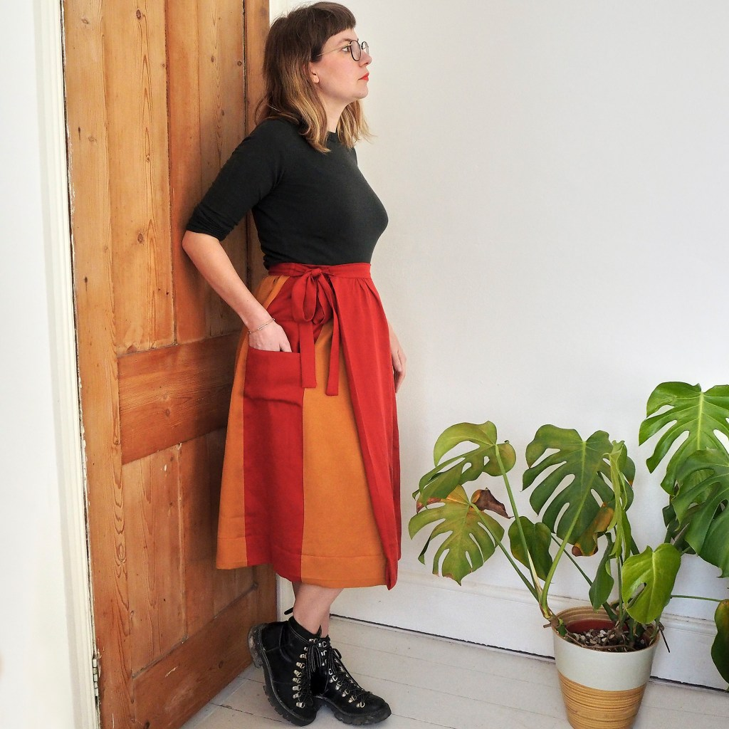 Ruby Rose wearing teh leda skirt