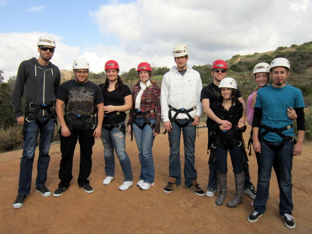 A local adventure: Zip lining  (1/3)
