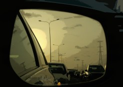 side mirror traffic 2