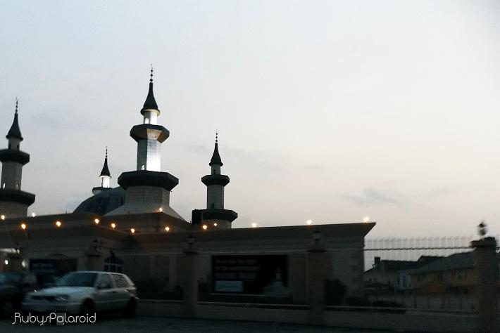 Minaret at dawn