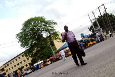 Street Crossing by rubys polaroid