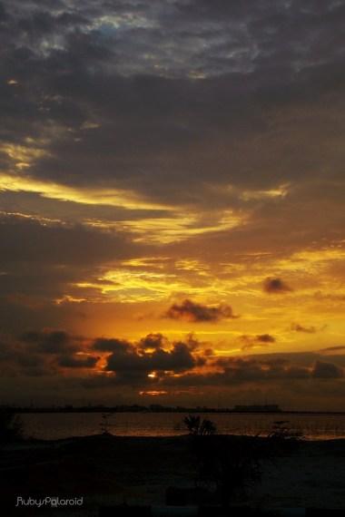 Nightfall at the Lagos Lagoon by rubys polaroid