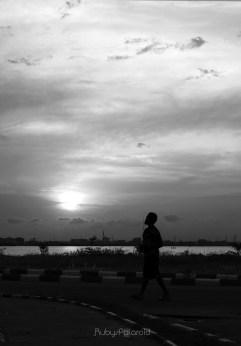 Evening Walk by rubys polaroid