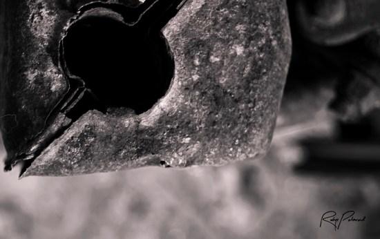 Gasoline Engine part BW by rubys polaroid