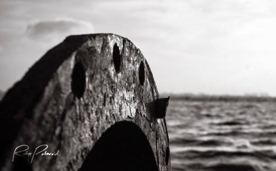 steel edge bw by rubys polaroid