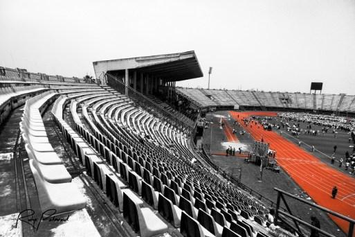 Teslim Stadium Lagos by rubys polarid