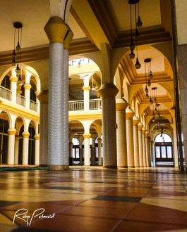Central Mosque Grand Atrium by rubys polaroid