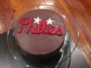 Ali's Phillies Cake