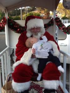 Noah & Santa 2011