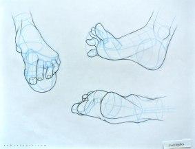 Sheridan_Animation_Portfolio_Ruby_Xia_life_Personal_Piece_Foot_Studies