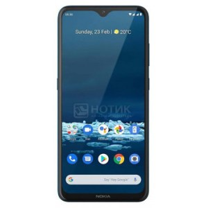 """Смартфон Nokia 5.3 DS 3/64Gb Cyan (Android 10.0/SDM665 2000MHz/6.55"""" 1600x720/3072Mb/64Gb/4G LTE ) [6830AA003763]"""