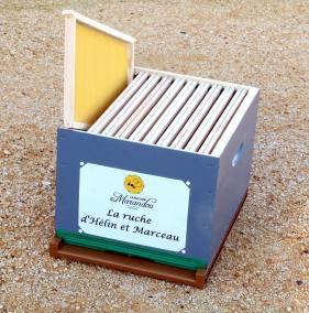 parrainer ruche 14 - rucher de marandou