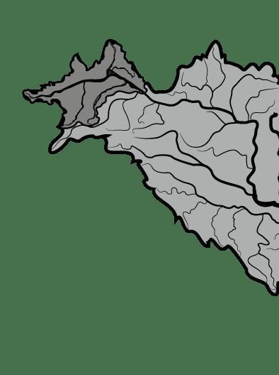 Einzugsgebiet Donau