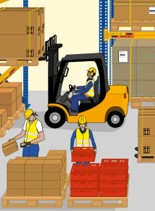 Project Visual dictionary - Warehouse logistics
